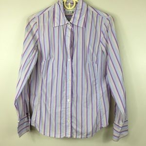 Banana Republic Long Sleeve Button Up Blouse M